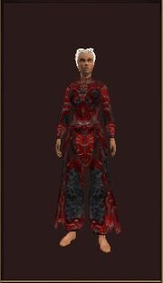 Tranquil Robe of Havoc worn