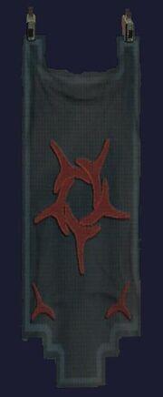 Dark sathirian tapestry visible