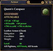 Queen's Carapace