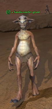 A Sandscrawler grunt