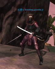 A Terrorfang guerilla