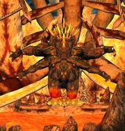 Fiery Effigy of Clotl'thoa (Advanced Solo)