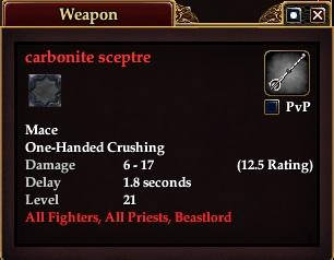 Carbonite Sceptre