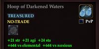 Hoop of Darkened Waters