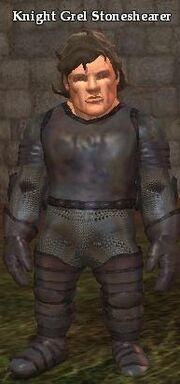 Knight Grel Stoneshearer