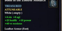 Boots of the Zombie Monarch