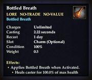 Bottled Breath