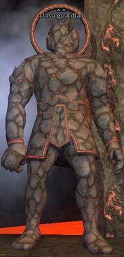 A lava guardian