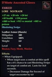 D'Morte Ancestral Gloves