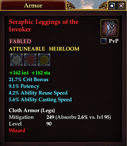 Seraphic Leggings of the Invoker