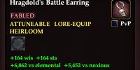 Hragdold's Battle Earring