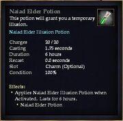 Naiad Elder Potion