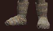 Thief's Blood-Dyed Chain Shoes (Equipped)