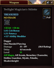 Twilight Magician's Stiletto