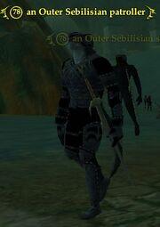 An Outer Sebilisian patroller