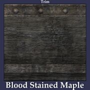 Trim Blood Stained Maple
