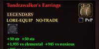 Tundrawalker's Earrings