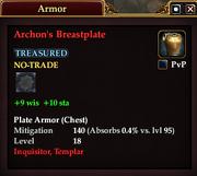 Archon's Breastplate