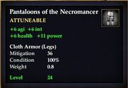 Pantaloons of the Necromancer
