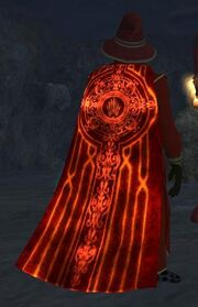 Cloak of Flames (Equipped)