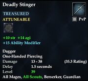 Deadly Stinger (Weapon)