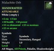 Malachite Orb