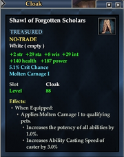 Shawl of Forgotten Scholars