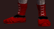 Snappy Red Boots (Equipped)