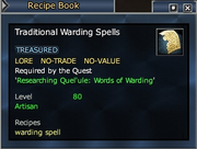 Traditional Warding Spells