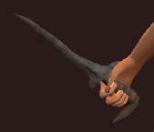 Iron Ritual Dagger (Equipped)