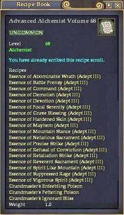 Advanced Alchemist Volume 68
