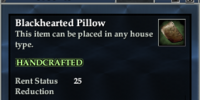 Blackhearted Pillow