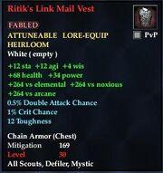 Ritik's Link Mail Vest