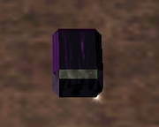Synthetic Kaborite Gem (Visible)