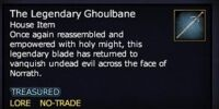 The Legendary Ghoulbane