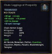 Chain Leggings of Prosperity