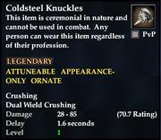Coldsteel Knuckles