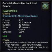 Gnomish Gent's Mechanicized Facade