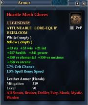 Hoarite Mesh Gloves