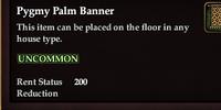 Pygmy Palm Banner