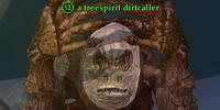 A treespirit dirtcaller