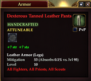 Dexterous Tanned Leather Pants