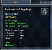 Raptor-scaled Leggings