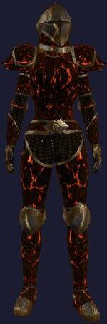 Sootfoot Magma (Armor Set)