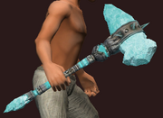 Monomaniac's Hammer (Equipped)
