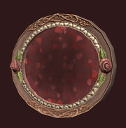 Oval-heart-stained-window