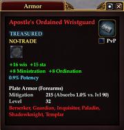 Apostle's Ordained Wristguard