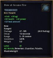 Bow of Arcane Fire