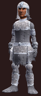 Forged Feyiron Chainmail (Armor Set) (Visible, Male)