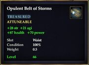 Opulent Belt of Storms